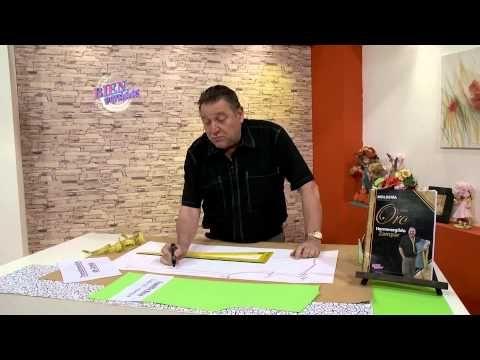 Hermenegildo Zampar - Bienvenidas TV en HD - Explica la transformación de la camisa de hombre. - YouTube