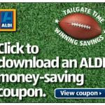 ALDI Coupon – Save $10 off $40 Purchase There is a new ALDI Coupon available – Save $10 off $40 purchase. The coupon is good in the states of KS, MO, AR, NE, and OK. Expires 11/15/13. PS: I confirmed validity of the coupon because normally I do not post coupons that are .jpeg because […]