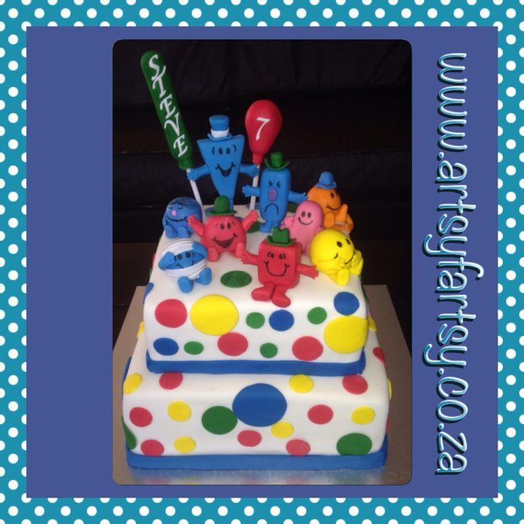 Mr Men Cake #mrmencake