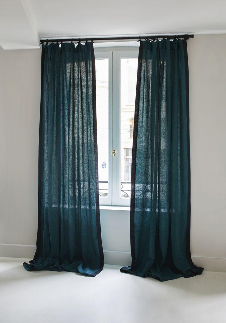 les 25 meilleures id es concernant rideaux et voilages sur pinterest rideaux rideaux color s. Black Bedroom Furniture Sets. Home Design Ideas