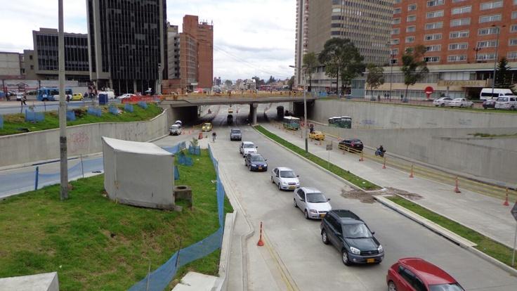 Bogotá -Colombia, Agosto 2012  -Calle 26 con carrera 10