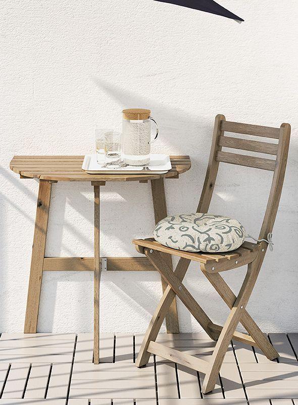 Klappstuhl Und Wandtisch Askholmen Von Ikea Bild 4 Outdoor