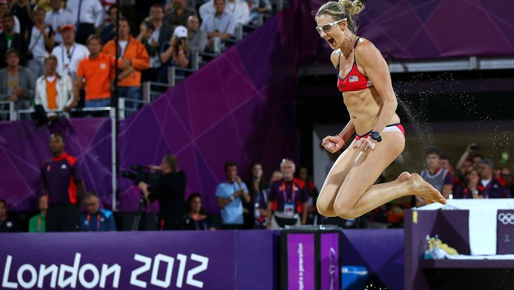 American beach volleyball legend Kerri Walsh Jennings is looking forward to playing on Rio's iconic – and natural – Copacabana beach.