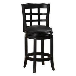 Boraam 24 Inch Kyoto Swivel Counter Stool Boraam Chairs