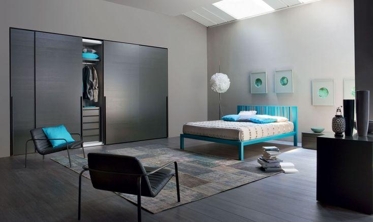 Vinci ágy, Lula szék | Vinci Bed, Lula chair  Gyártó | Manufacturer: Novamobili  http://www.novamobili.it