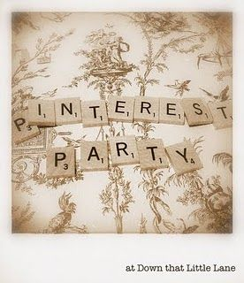 Pinterest Party! Come to TDU -  Wednesday January 30th 8pm