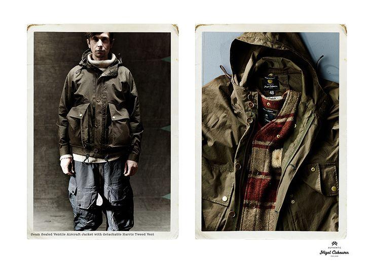 aircraft jacket / nigel cabourn