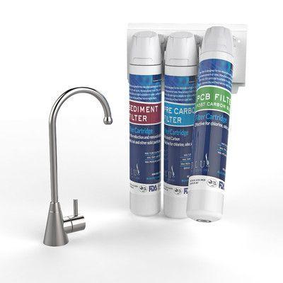 Drinkpod USA Under Sink Water Filter Set