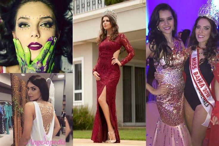 Patricia Guerra Miss Bahia 2015 for Miss Brazil 2015