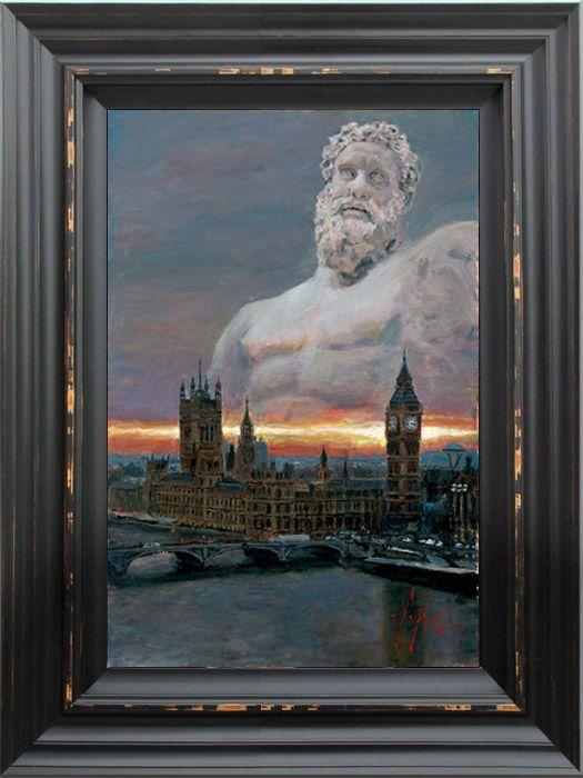 London 2012 by Fabian Perez - stunning!