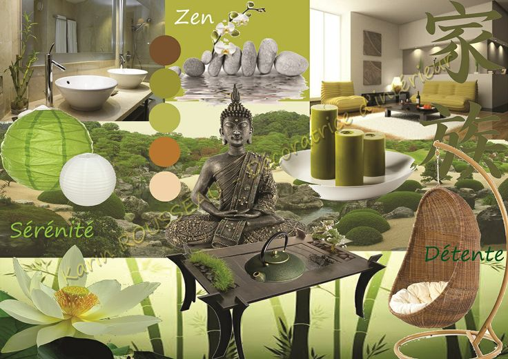 les 39 meilleures images du tableau deco zen sur pinterest. Black Bedroom Furniture Sets. Home Design Ideas