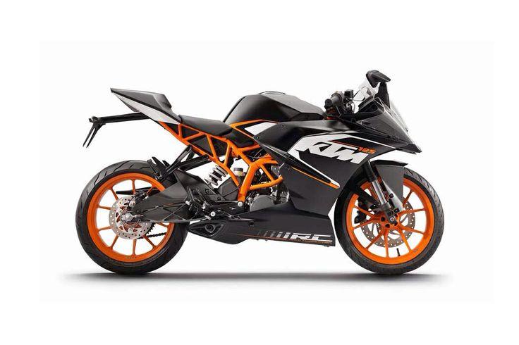 KTM 380 single sport bike