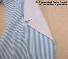 Lapel Collar Sewing Tutorial - by Pamela Erny http://off-the-cuff-style.blogspot.co.uk/2006/12/hot-patterns-collarlapel-tutorial.html