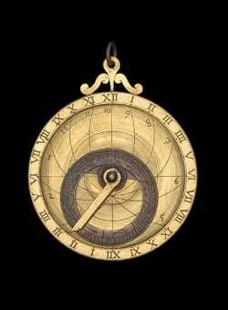 astrolabe, inventory number 41951 from Europe, 16th century (?)