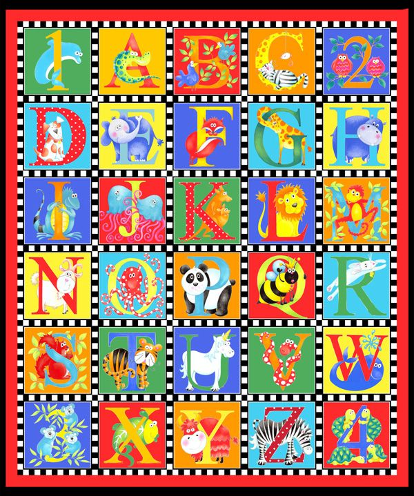 16 Best Alphabet Baby Quilt Images On Pinterest Alphabet