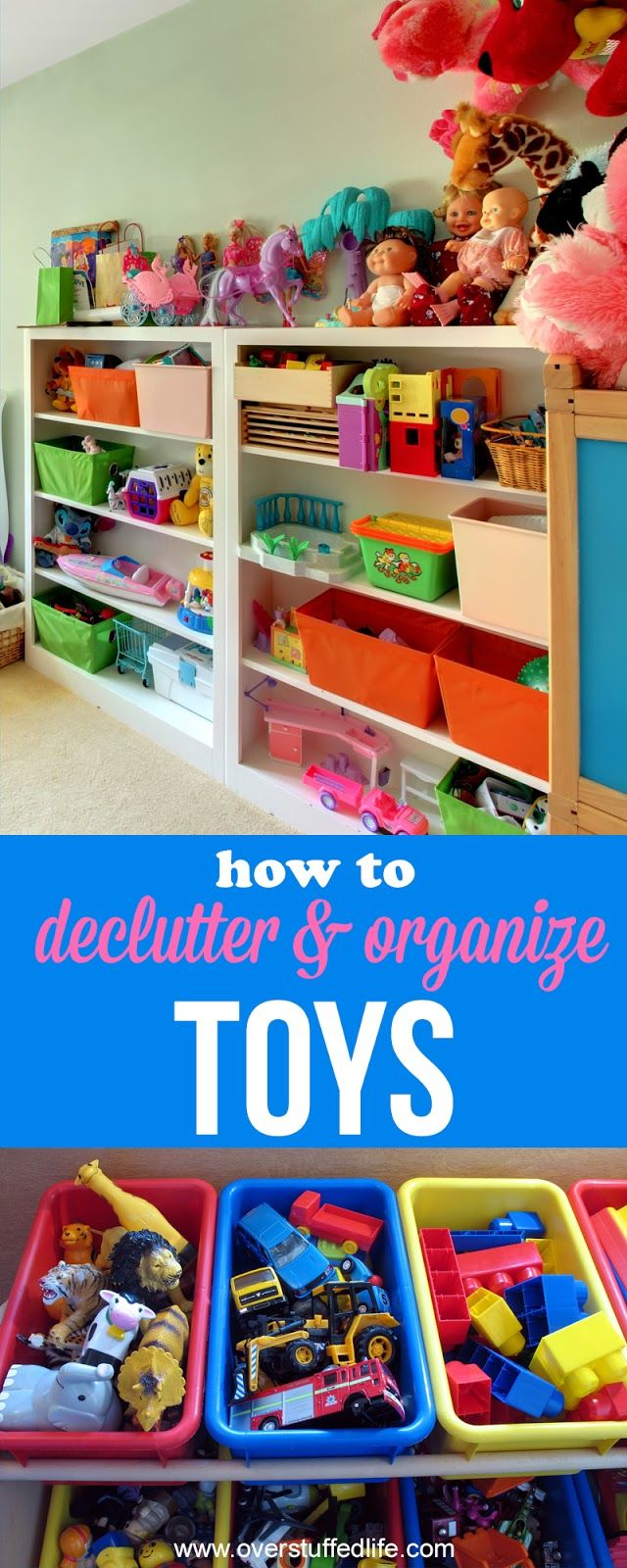 toy organization | organize play room | toy storage ideas| Organize American Girl Doll clothes and accessories | tips to declutter kids toys | how to get rid of toys | ideas for organizing and decluttering toys | get rid of toy clutter | clean play room