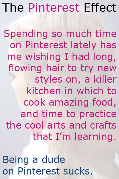 The Pinterest Effect: Apply, Wouldnt, Long Hair, Funny, Damn Pinterest, Benefit Aswell, Ive