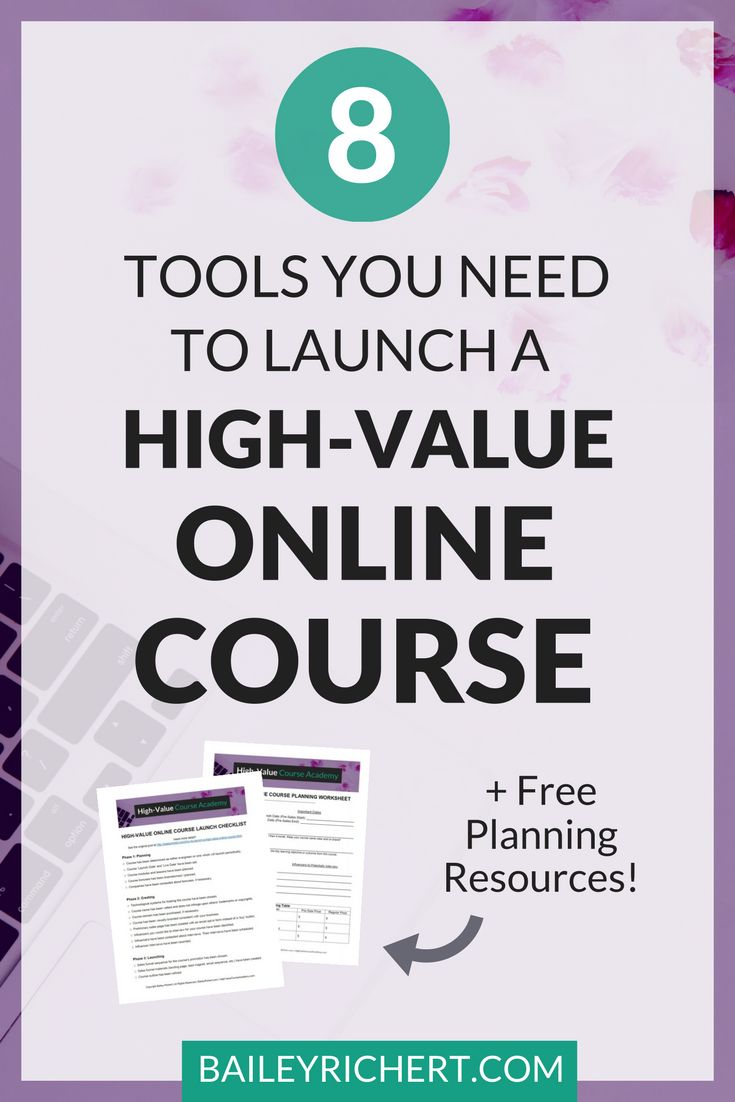 eight Instruments You Have to Launch an On-line Course