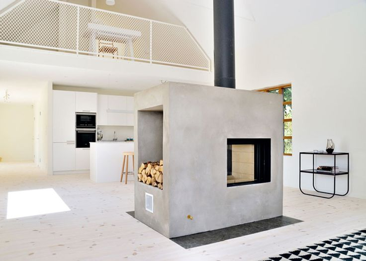 In tune with the simplicity, efficiency and innovativeness of Nordic architecture and industrial design (think IKEA!), this stylish loft house designed by Sweden architects Sandell Sandberg has a surprise around...