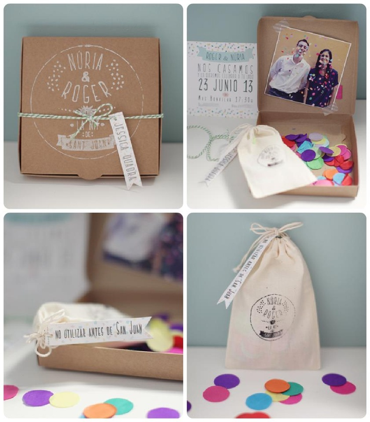 Invitaci n boda diy packaging pinterest - Diy para bodas ...