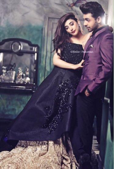 Hot Photoshoot of Urwa Hocane and Farhan Saeed For Hello Pakistan