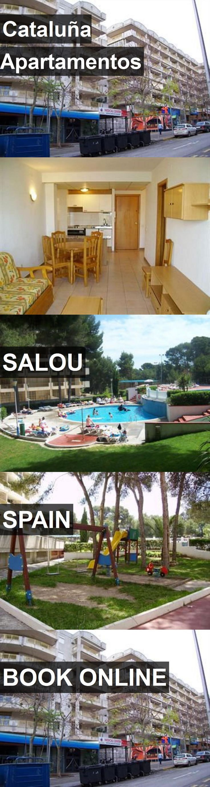 Hotel Cataluña Apartamentos in Salou, Spain. For more information, photos, reviews and best prices please follow the link. #Spain #Salou #travel #vacation #hotel