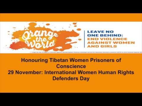 Honouring Tibetan Women Prisoners of Conscience #Standup4humanrights