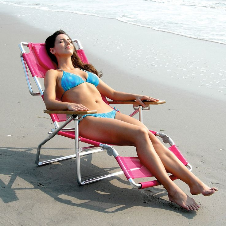 Ostrich 3-N-1 Beach Chair with FREE Towel   from hayneedle.com