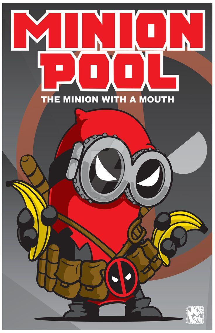 Minion-Deadpool by CuddleswithCats.deviantart.com on @DeviantArt