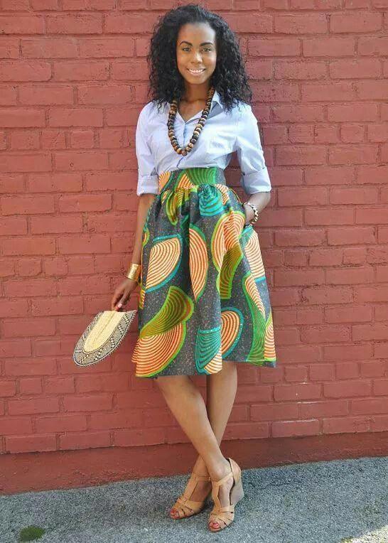 African inspired fashion from Zuvaa #KenteSpecials   Ankara Collection de 2019   Saia africana, Traje africano e Roupas africanas