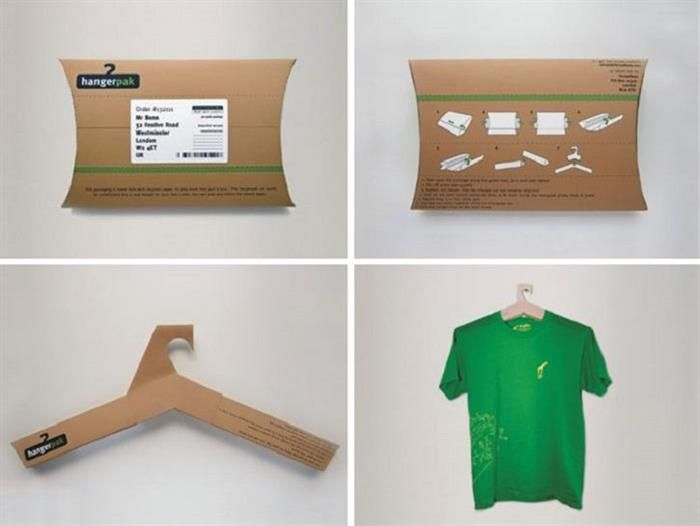 38e72fdd82d interactive packaging  Multi-purpose packaging- a box that turns into a  hanger
