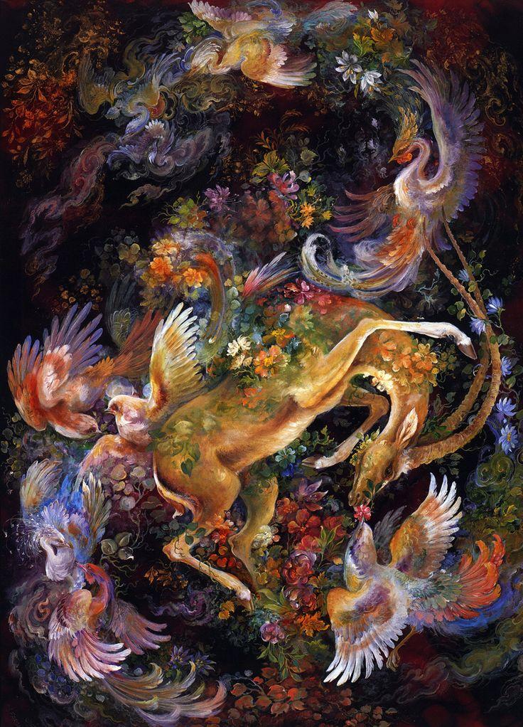 небольшой наз иран в картинах художников масса таких