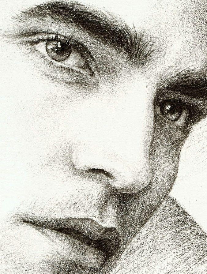 Красивые картинки мужчин в карандашей
