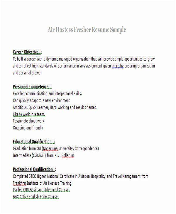 Sample Resume For Freshers Awesome 43 Professional Fresher Resumes Job Resume Template Resume Skills Sample Resume