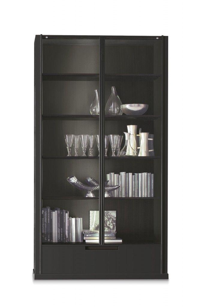 Libreria-vetrina Dorothea di Alivar #alivar #mobili #soggiorno #home #house #design #cosedicasa #casa #arredamento #arredamentocasa