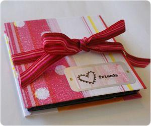 折り紙ブック 表紙 カード 手作り メッセージカード カード