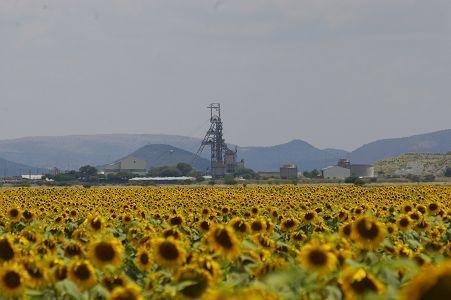 Impala Platinum Mine, near Rustenburg, South Africa