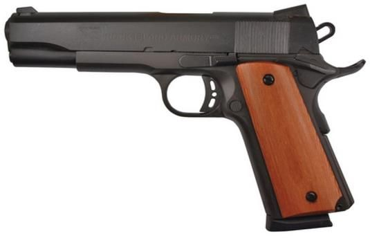 "Rock Island Armory 1911-A1 Tactical .45 ACP 5"" Barrel Parkerized Finish 8 Rd Mag"