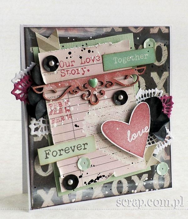 Valentine card  http://www.hurt.scrap.com.pl/ornamenty-i-narozniki-zewnetrzne-6szt.html http://www.hurt.scrap.com.pl/tusz-pigmentowy-do-stempli-i-embossingu-ochra-cz.html http://www.hurt.scrap.com.pl/pojedynczy-stempel-gumowy-serce-napis-love.html
