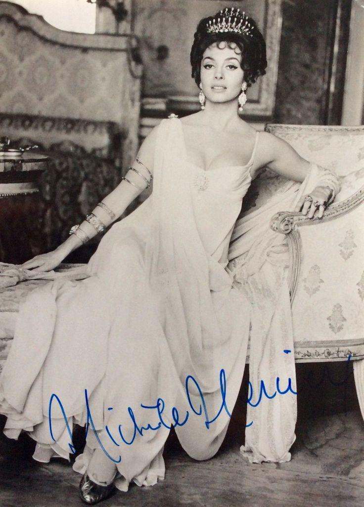 Autographe Michele Mercier Dédicace Signed Photo Signiert Autografo | eBay