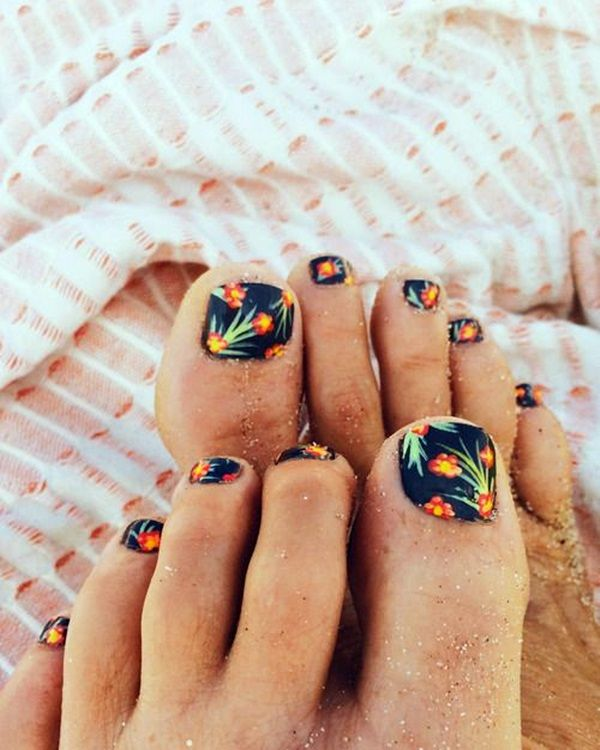 25 best ideas about cute toe nails on pinterest cute toenail designs pedicure designs and summer toe designs - Toe Nail Designs Ideas