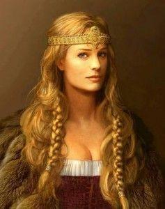 Frigga è la moglie di Odino, madre di Balder e dea protettrice del matrimonio e della vita domestica. - MEET MYTHS-