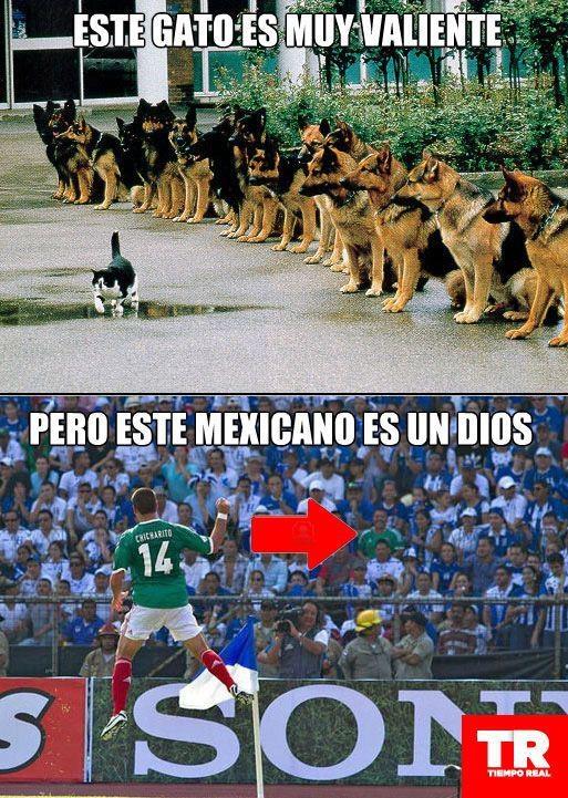 """Mexicano valiente en """"Los Memes de Vargas""""."""