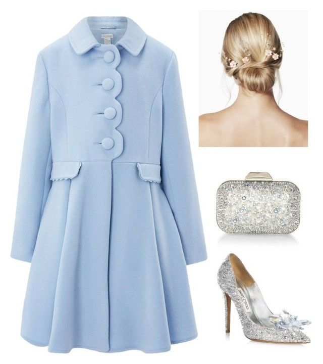 """""""Winter Cinderella"""" by tothmerci on Polyvore featuring Jimmy Choo and Monsoon"""