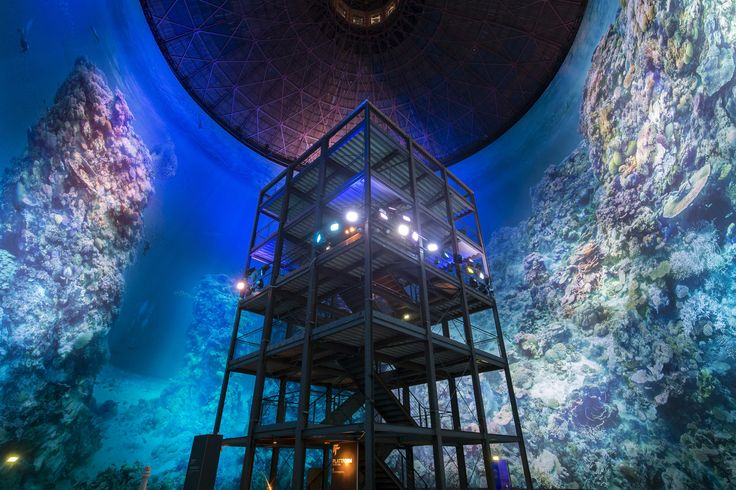Great Barrier Reef Panometer Leipzig Germany Yadegar Asisi | Architectural Digest