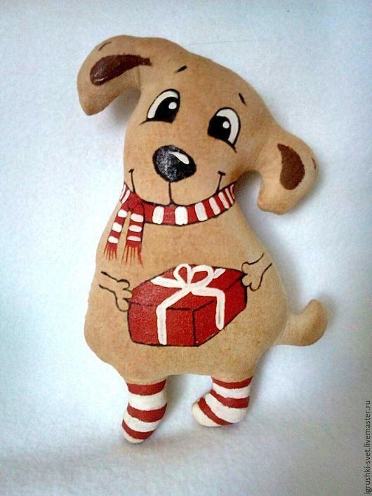Куклы и игрушки ручной работы. Ярмарка Мастеров - ручная работа. Купить Кофейная собака. Handmade. Комбинированный, ароматизированный, кофейная, корица