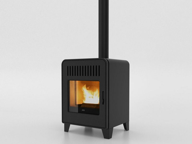 Download the catalogue and request prices of Cute by Mcz Group, pellet stove design Emo Design