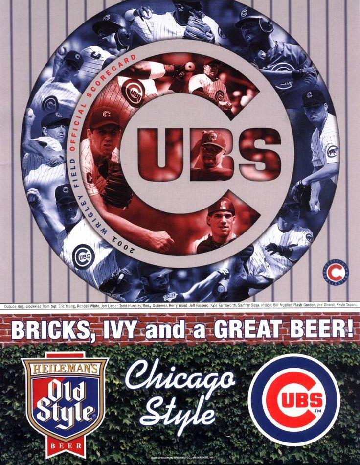 Cubs 2001 Scorecard Version 4