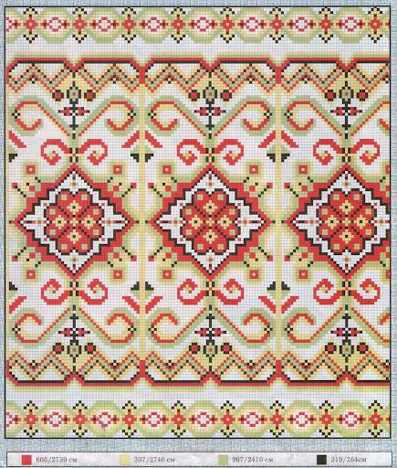 many traditional Arab cross stitch patterns #cross stitch #Afs 5/5/13