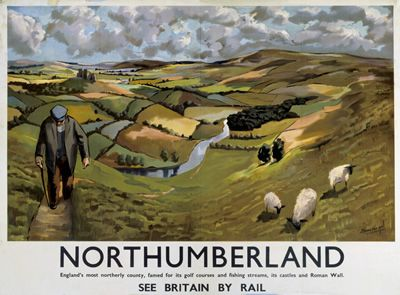 Northumberland on VintageRailPosters.co.uk Prints